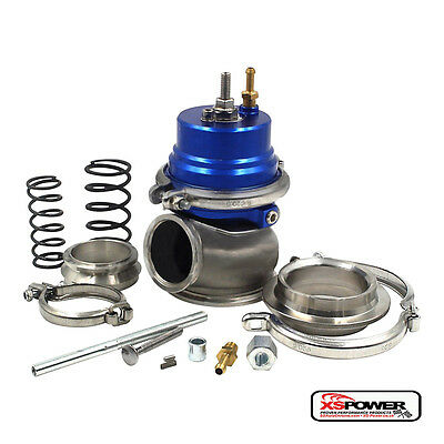 60mm External Wastegate with V-Band Clamp and Flange