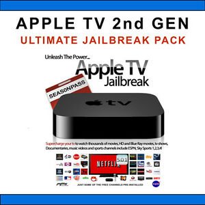 Apple TV - 2nd Gen - Ultimate JAILBREAK Pack - XBMC 12.3 - a MUST HAVE PACKAGE !