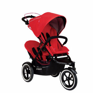 Phil & Ted Double Running Stroller For Sale