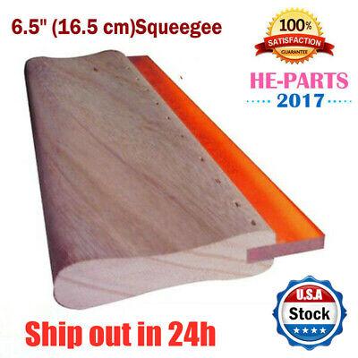 Usa 6.5 Silk Screen Printing Squeegee Ink Scraper Scratch Board 75 Durometers