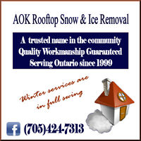 Stop Roof Leaks - AOK Rooftop Snow & Ice Removal
