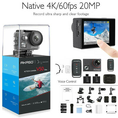 Akaso V50 Elite Native 4K/60fps 20MP 4K Action Camera Touch Screen Voice Control