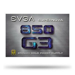 EVGA SuperNOVA G3 850W 80+ Gold Fully Modular Power Supply (NEW)
