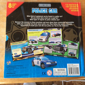 BUILD YOUR OWN POLICE CAR 2008 BY PHIDAL PUBLISHING NEW Gatineau Ottawa / Gatineau Area image 6