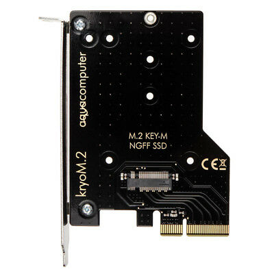 aqua computer kryoM.2 PCIe 3.0 x4 M.2-SSD-Adapterkarte mit Passi