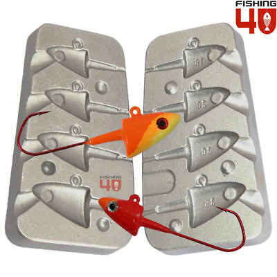 Cheburashka weight mould 30-40-50/_ system for jig heads and predator jigs-179