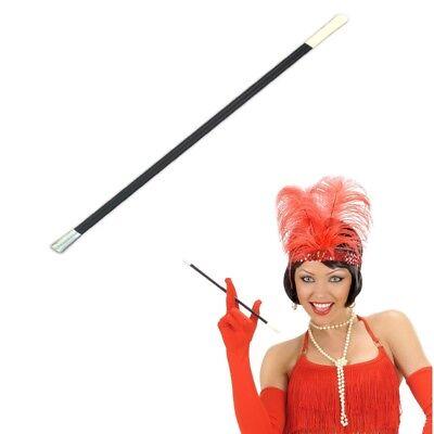 ZIGARETTENSPITZE Zigarettenhalter 30 cm schwarz Charleston Kostüm Zubehör - Zigaretten Halter Kostüm