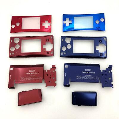 Austausch Full Housing Case Hülle für Nintendo Gameboy Micro GBM Rot  und Blau  Rot Micro Case