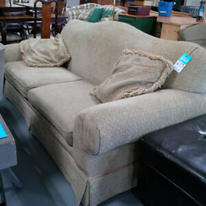 Beige sofa with two cushions for only $80!