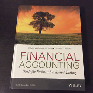 Financial Accounting | Tools for Busi.... - 6th Canadian Edition