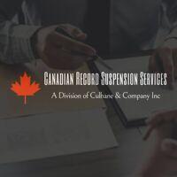 Criminal Record Suspensions