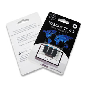 Webcam Cover - 3 Pack