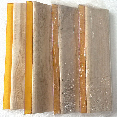 4 Pcs 13 Screen Printing Squeegee Oiliness Ink Scraper Press Tool Us Stock