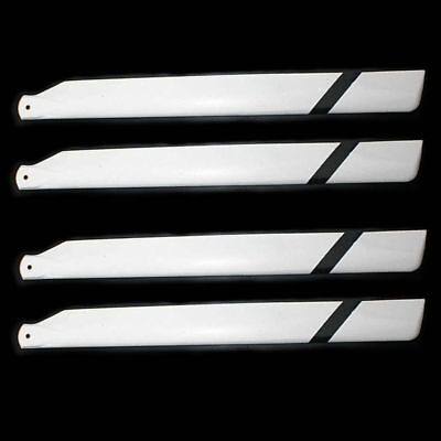2Pairs 325mm Glass Fiber Main Rotor Blade for Trex 450 Helicopter  450 Glass Fiber