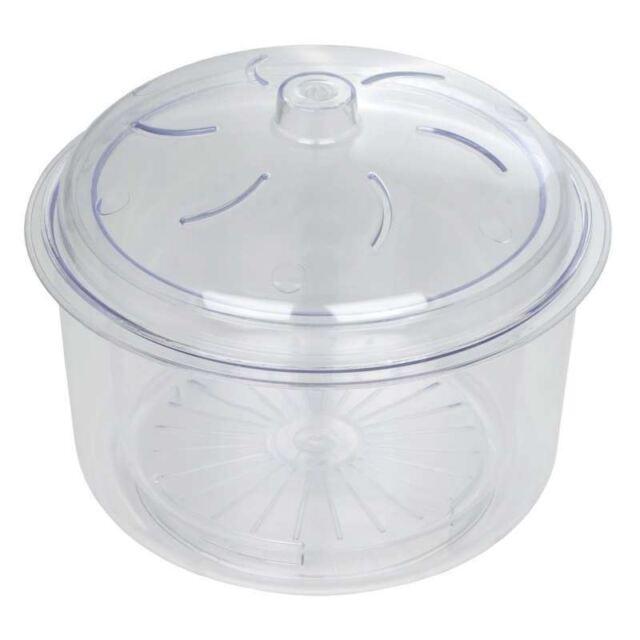 Dexam Microwave Rice & Vegetable Steamer - Poly Carbonate 22Cm 2.3L