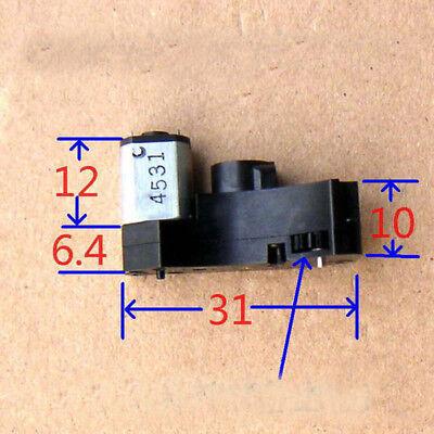Dc 3v 80rpm Micro Worm Gear Motor Mini Gearbox Reduction Wheel Car Robot Diy
