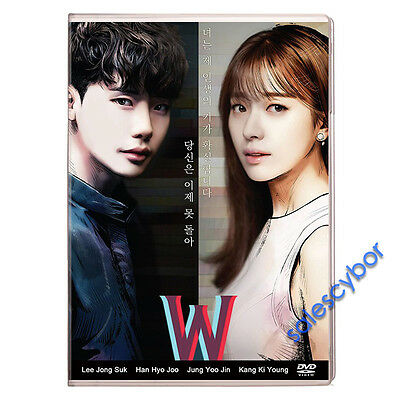 Buy 5 Get 1 Free   W   Two Worlds Korean Drama  4Dvd  Excellent English