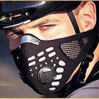 Super Anti Dust Cycling Bicycle Bike Motorcycle Racing Ski Half Face Mask Filter