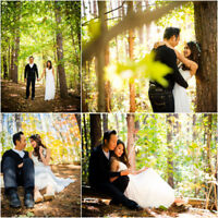 WEDDING PHOTOGRAPHY - $800 - FULL DAY + ENGAGEMENT SESSION