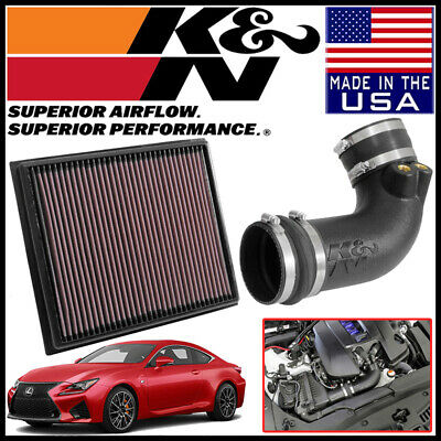 63-9038 K/&N Performance Air Intake System AIRCHARGER LEXUS RC F V8 5.0 2015-2017