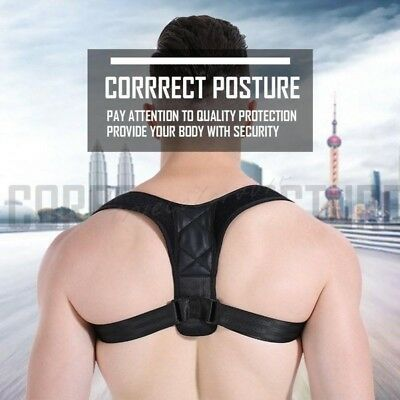 Best Posture Corrector & Back Support Brace Shoulder Upper Back Neck Pain (Best Upper Back Support Brace)