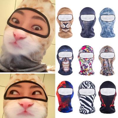 3D Animal Outdoor Cycling Ski Hat Balaclava Motorcycle Halloween Full Face Mask