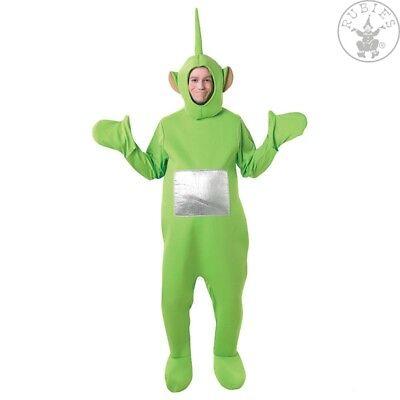 ies Dipsy Lizenz Kostüm Fasching Karneval Teletubbie grün (Teletubbie Kostüm)