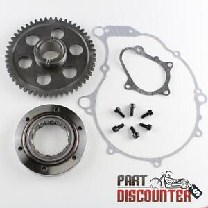 YAMAHA RAPTOR 660 ONE WAY BEARING STARTER CLUTCH GEAR KIT SET 2001-2003