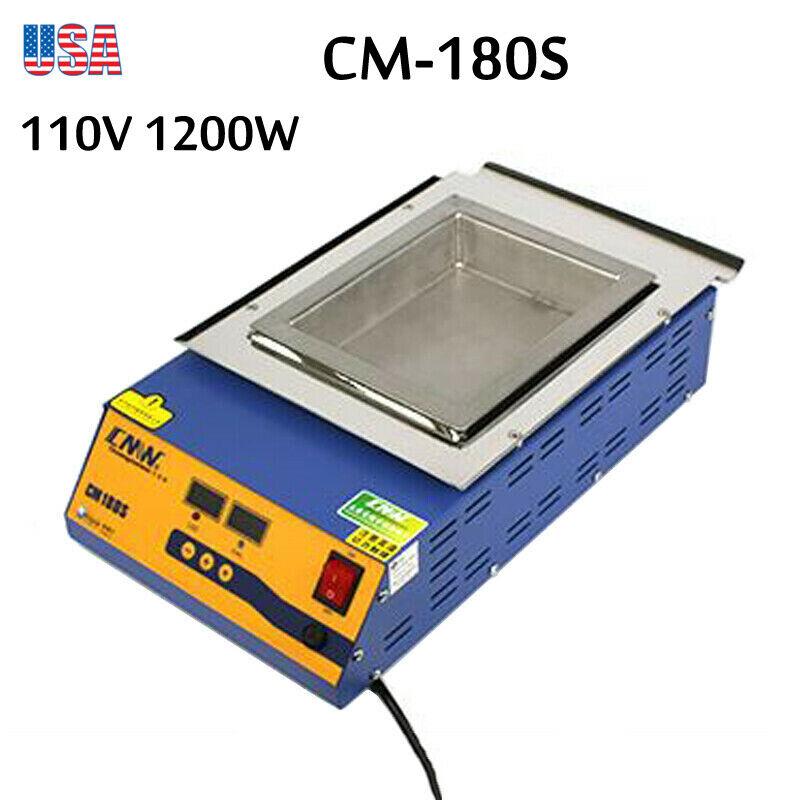 CM-180S 0°C-400°C 110V 1200W Digital Preheating Lead-Free Soldering Pot