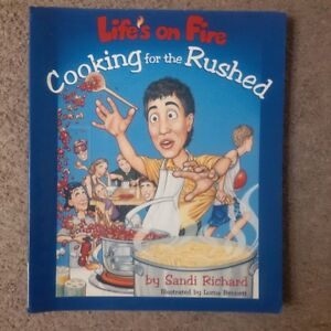 """Sandi Richard """"Cooking for the Rushed"""" cookbook"""