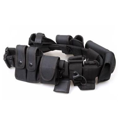 Adjustable Police Officer Security Guard Duty Belt Security Equipment System