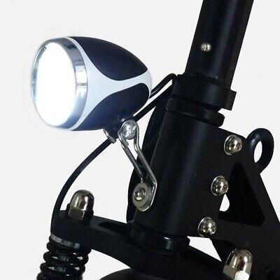 Luz de Bicicleta EléCtrica 24V36V48V Luz Delantera LED con Bocina Faro de...