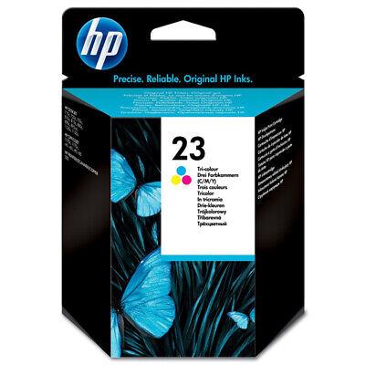 Ml Gelb Tintenpatrone (Hewlett Packard NO.23 originale Tintenpatrone 30ml dreifarbig NEU)