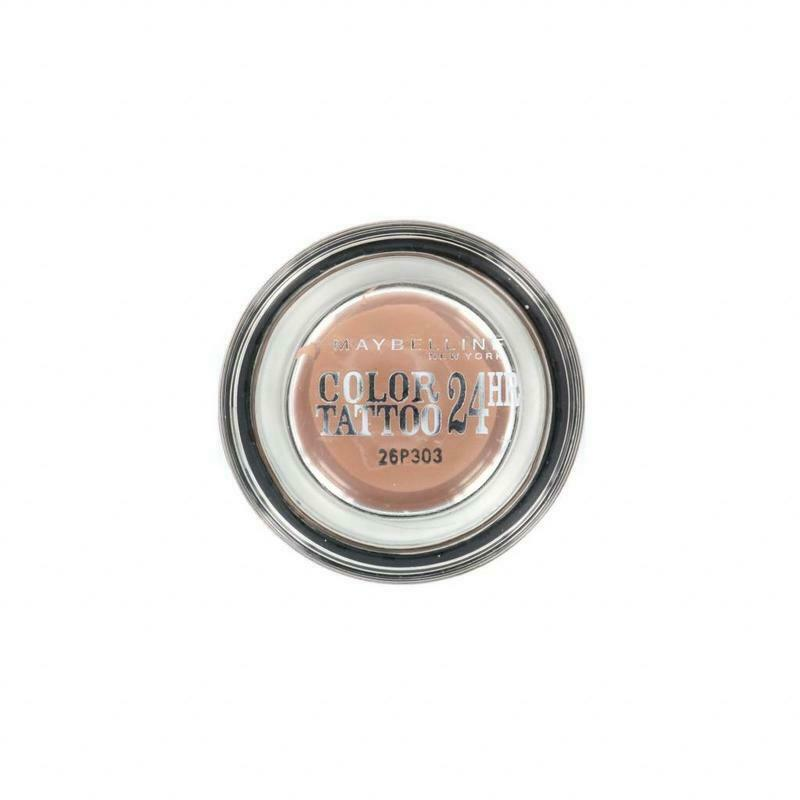Maybelline Color Tattoo Gel Cream Lidschatten Eyeshadow Matt 98 Creamy Beige 4g