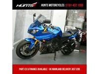 2012 '62 Yamaha Fazer 8 ABS. Sports Windscreen, Fairing Protectors, Rack. £3,495