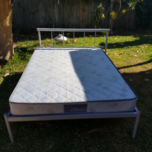 Double Mattress with frame