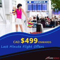 Vancouver - Montreal | CAD $499 Onwards