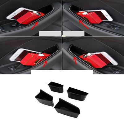 Interior Front  Rear Door Storage Box Organizer Holder For Audi A3 8V 2014 2018