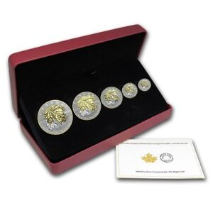 COLLECTOR ALERT HARD TO FIND 5 COIN SET