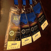 4 Grey Cup tickets together sec 113 $349 Face value.