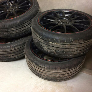 Street Gear Wheels with new Joyroad 205/R40XL performance tires Regina Regina Area image 5