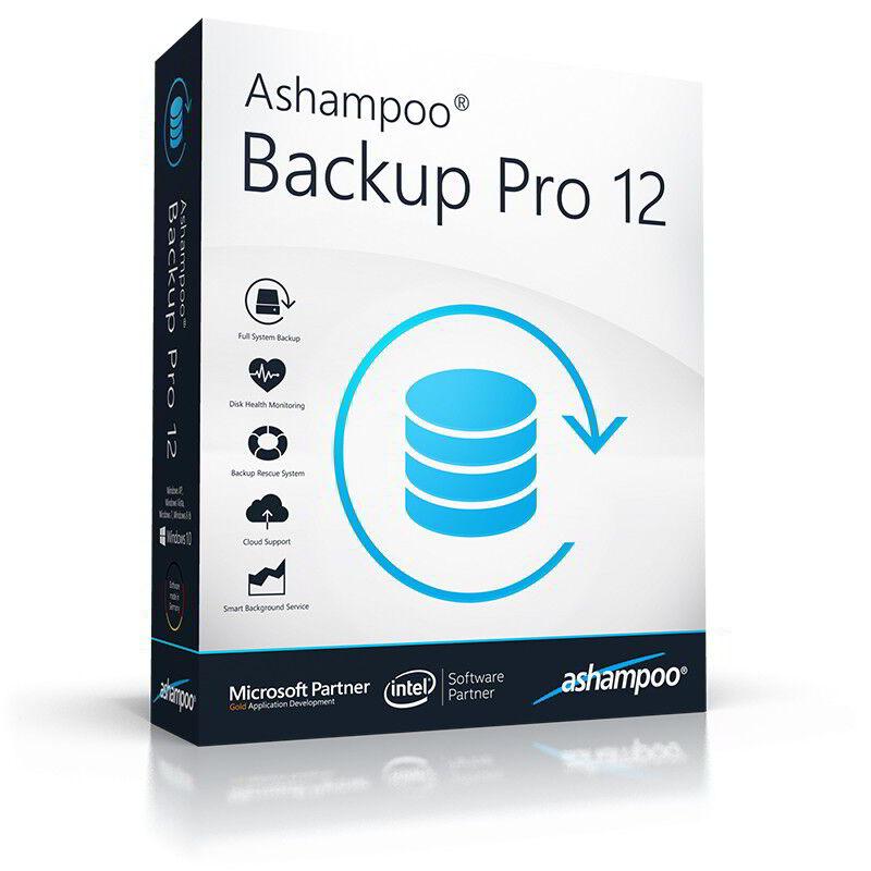Ashampoo Backup Pro 12 dt. Vollver. lifetime Download nur 19,99 statt 49,99 EUR
