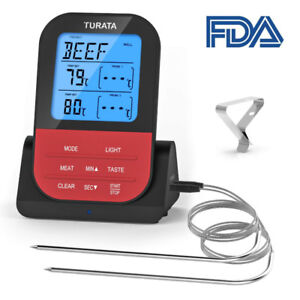 Meat Thermometer, Turata Wireless Meat Thermometer, Instant Read