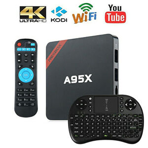 A95X android tv box  with kodi 17.1