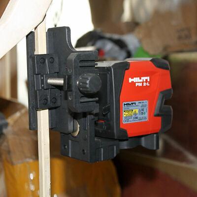New Hilti Laser Level Pm 2-l Line Laser Send Additional Magnetic Pivot Bracket