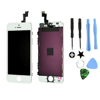 White LCD Display+Touch Screen Digitizer Assembly Replacement for iPhone 5S OEM on Rummage
