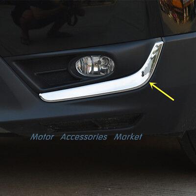 Chrome Fog Light Trim - Chrome Stainless Steel Front Fog Light Lower Trim for Honda CRV CR-V 2017 2018