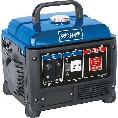 Scheppach Inverter Stromerzeuger 1200W Stromaggregat 230V Generator SG1200