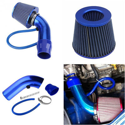 (Car Cold Air Intake Filter Induction Kit Filter+ Pipe+ Accessories Hose System)