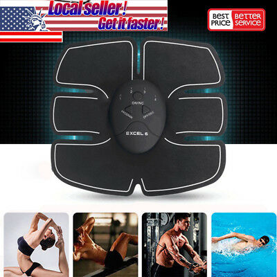 Abdomen Muscle Stimulator Training Belt Electrical Body Shape Home Trainer Abs